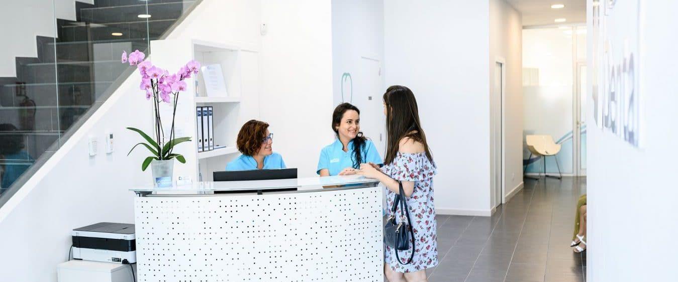 Recepción Clínica Dental en Mallorca