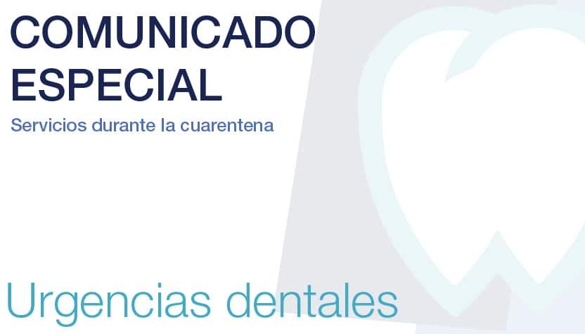 Servicio de urgencias dentales en Mallorca dentales durante la cuarentena